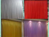 3 متر * 3 متر خلفية ستارة بيضاء الاحتفال الزفاف المرحلة الأداء خلفية المسرح جدار backcloth الألوان كوستوميد