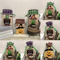 Bolsas de regalos de Halloween dulce bolsa truco o Spooky caramelo de la cala Bolsa de regalo