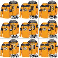 Nashville Predators Kapüşonlular 100 35 Pekka Rinne 92 Ryan Johansen 9 Filip Forsberg 18 James Neal 76 P.K. Subban Özel Hokeyi Formalar