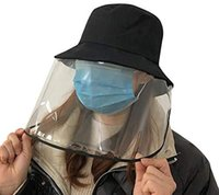 Unisex Protective Face Shield Cover Hat Anti Spitting Saliva...