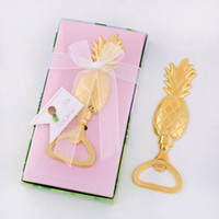 Gold Pineapple Bottle Openers Anniversary Souvenir Birthday ...