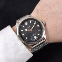 New Heritage Ranger 79910 Steel Case Black Dial Automatic Me...