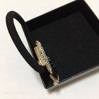Мода Crystal Black Diamond Almond Illoy Рисование резиновые полосы головы веревки шпильки головные уборы ювелирные изделия аксессуары VIP подарки