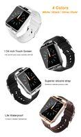 Para IOS de Apple androide relojes reloj inteligente SmartWatch MTK610 DZ09 montre reloj inteligente inteligente con batería de alta calidad