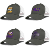 LSU Tigers primary team logo army- green mens and women truck...