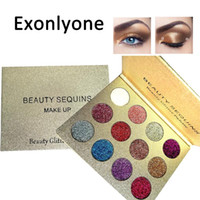 Beauty Glazed 12 Colors Diamond Glitter palettes Pigmented e...