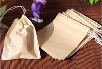 60 X 80 мм Wood Pulp фильтровальной бумаги Одноразовые ситечки для чая рукавные фильтры Single кулиской заживают Seal Чайные пакетики Нет отбеливатель Go Green 001