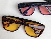 Toptan-Yeni moda tasarımcısı güneş gözlüğü çıkarılabilir maskeleme çerçeve süs gözlük uv400 koruma objektifi en kaliteli basit gözlükler
