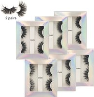 3D Mink Eyelash Natural False Eyelashes Extension Faux long ...