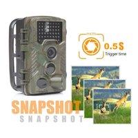 HOt Trail Камеры ночного видения Охотничий камера 1080P HD цифровой инфракрасный Wildlife скаутинг животных камеры водонепроницаемый