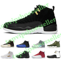 New Mens 12s basketball shoes Game Royal Reverse Taxi HOT PU...