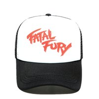 2020 New Terry Bogard Cap The King of Fighters FURY Gorra de camionero Cosplay Coser Cap sombrero de malla de verano para hombres cosplay