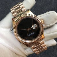 Nouveau style montre Date Jast montre de luxe mécanique 41MM or mens montres en acier inoxydable bracelet à double calendrier montres montre de luxe
