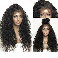 360 Lace Frontal Wig 180% Density Pre- Plucked Hairline 360 L...