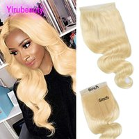 Malaysian Virgin Hair Body Wave Six By Six Top Closure 6*6 L...