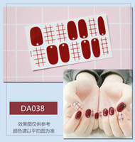 NAS003 Glitter Powder Gradient Color nail art Stickers Nail ...