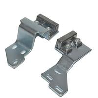 Cinto automático de cinto de porta clipe clipe economia de energia deslizamento de vidro fivela dispersor sensores colchete parte de hardware montagem