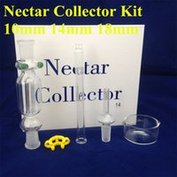 Nectar collector kit 2. 0 glass bongs with titanium nail wate...
