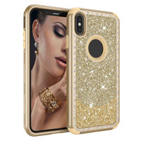 Luxury Rhinestone Glitter Phone Cases for iPhone 6 7 8 Plus ...
