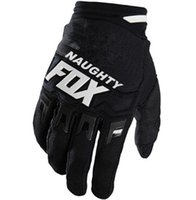 NAUGHTY FOX Motocross Luva Dos Homens Off-road DH Mountain Bike Downhill Luva Dedo Completa Motocycle Bicicleta Ciclismo Guantes