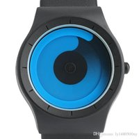 New Concept Watch Minimalist Style Cool Color Spiral Turntab...