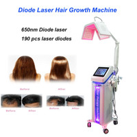5 일 머리 성장 기계 650 ㎚ 다이오드 레이저 아름다움 탈모 치료 모발 재성장 레이저 미용 기계에