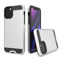 Dual Couche Slim Armour Étui brossé pour iPhone 11 Pro Max 6 6S 7 8 Plus X XS XR Hard Cover PHOTO