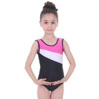 Gymnastik Trikot für Gilrs One-Piece Sportballetttanz-Abnutzungs-3-12 Jahre Ballettberuf Tutu Behälter Turnanzug Kleid
