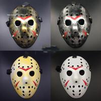 Mode stilvoller Jason Voorhees Freitag der 13. Horror Hockey-Maske Scary Halloween-Maske Partei Masken Kühlen Full Face