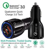 Chargeur De Voiture 5V 3.1A Charge Rapide Double USB Charge Rapide Pour Iphone Xs Max 7 8 Plus Pour Samsung S9 S8 S7
