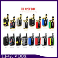 Original Kangvape TH420 V Box Kit 800mAh 20W Adjustable Wattage Temperature Vape Mod TH-420V box with 0.5ml Ceramic Coil Cartridge