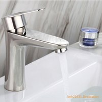 New bright polished washbasin hot and cold faucet 304 stainl...