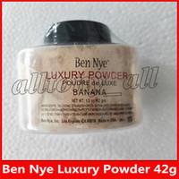 Hot Ben Nye Luxo em pó Banana Pó solto Waterproof Nutritiva Bronze Cor soltos 10pcs 42g de pó