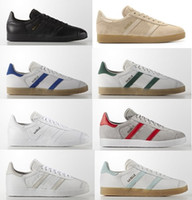 Hot Sale-017 Men Women Casual Suede Gazelle Vintage city og Lightweight Walking Hiking Shoes size Eur36-44