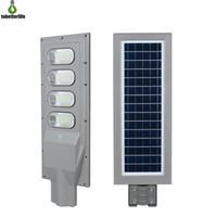120 W 150 W Güneş Sokak Lambası PIR Hareket Sensörü LED Yol Işığı Su Geçirmez IP65 Direk Uzaktan Kumanda ile Açık Aydınlatma