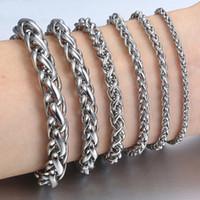 2019 nuovo titanio acciaio inossidabile drago grano braccialetto per gli uomini nuovo arrivo personalità chiglia mens braccialetti braccialetti per uomo gioielli