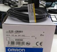Adet Başına 5 Lot Orijinal OMRON YENI E2E-CR8B1 E2ECR8B1 Yakınlık Anahtarı Yeni Box Ücretsiz Hızlandırılmış Kargo