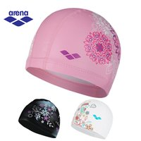 Arena Waterproof Lycra Swimming Caps for Women Swimming Cap ...