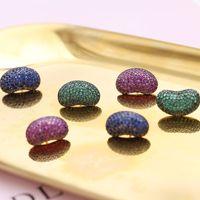 Серьги для fashion-женщин высокого качества S925 Серебряные серьги Brands Design кофе в зернах Ушные Шпильки