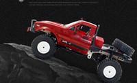 WPL 2.4G 4 canales RC SUV modelo de coche de los juguetes, 1:16 Monster Trucks, vehículos todo terreno, con una rueda de repuesto, luces LED, Navidad cumpleaños del niño del regalo 2-1