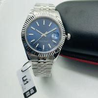 U1 Uhr Automatische Uhr-mechanische 41mm DAY-DATE Edelstahl Saphir wasserdicht super Luminous Original-Buckle Herren-Uhr