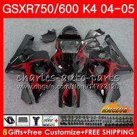 SUZUKI GSX R600 Için Kiti R750 GSXR600 GSX-R750 GSXR 600 750 04 05 7HC.