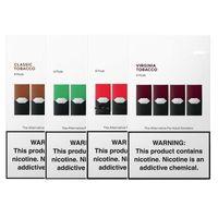 2019 sapori cialde opod tabacco per kit dispositivo a penna vape 4 cialde in una scatola cartuccia vape riutilizzabile anche eon pod soffio bar
