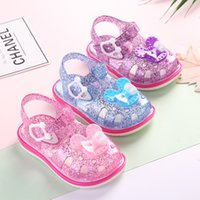 Summer Crystal Baby Girls Sandals for Children Beach Shoes K...
