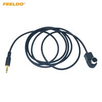 FEELDO Autoradio 3,5 mm Stecker-Input-Schnittstelle Audio Musik Aux-Kabel-Adapter für Alpine KCA-121B Ai-net-Socket-Ports # 6251