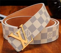 Hombres Mujeres Diseñador de moda Cinturones Cinturón de cuero genuino de  vaca Cinturones de cuero genuino 0436070181c2