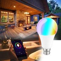 Veilleuse multifonctionnelle d'économie d'énergie de lampe de nuit RVB + blanc chaud WIFI LED Contrôle intelligent de commande vocale de lampe