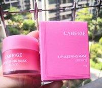 새로운 포장 및 오래된 포장 Laneige 특별한 케어 립 슬리핑 마스크 립밤 립스틱 보습 안티 에이징 안티 - 주름 화장품 20g
