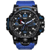 Digital Watches Men Army G Style Sport Watch Water Resistant Data Calendario LED Electronics Guarda il marchio mascolino