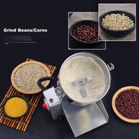 220V 800g Granos Especias Hebals Cereales café seco alimento amoladora Miller Rectificadora de Medicina de la harina en polvo trituradora